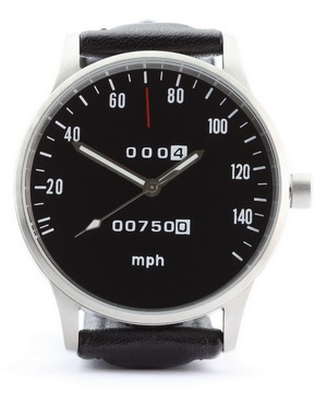 CB 750 speedometer mph watch