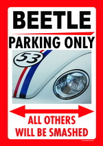 BEETLE PARKING ONLY
